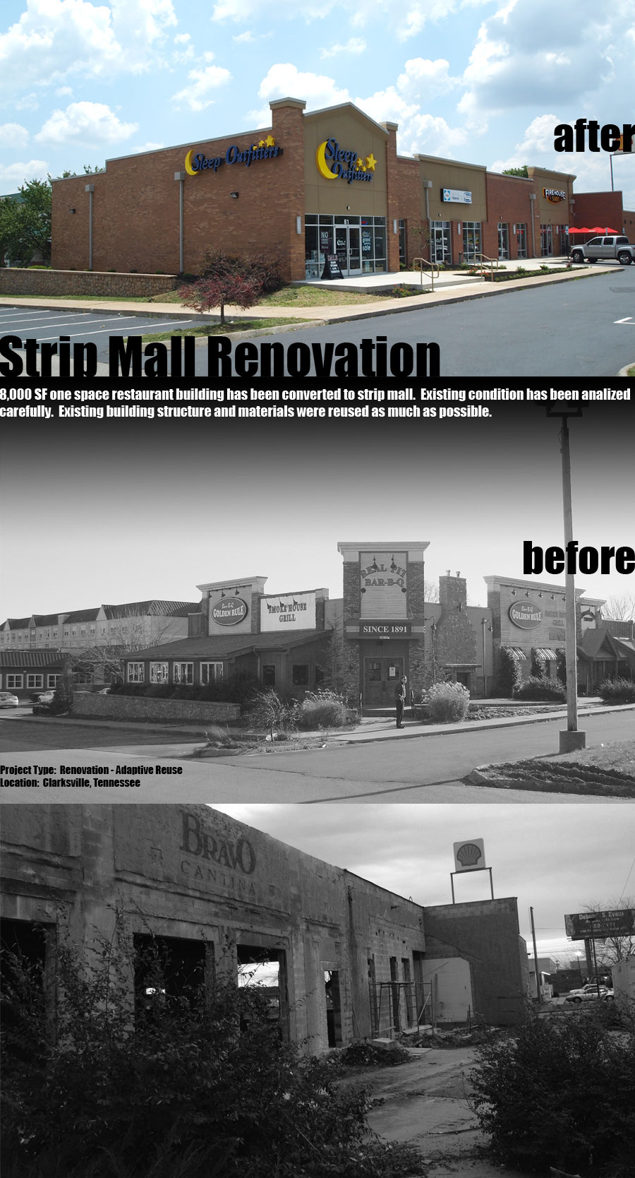 CLARKSVILLE MALL RENOVATION