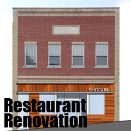 restaurant renovation